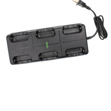 Multi Battery Six-way Rapid Charger for WLN KD-C1 Walkie Talkie  mobile KD-C2 Two-way Radio