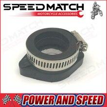 Dirt Pit Bike Carb Carburetor Rubber Mainfold Adapter Inlet Intake Pipe Mikuni VM24 28mm OKO KOSO KEIHIN PE24 PE26 PE28