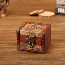 Hot Mini Vintage Wooden Box Classic Retro Antique Storage Case Small Me
