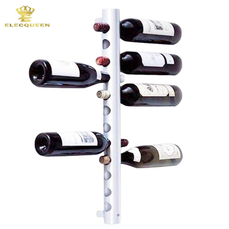 Vertical Wall Mounted Wine Rack