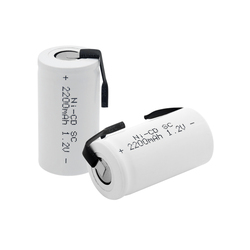 High quality SC Ni-Cd battery rechargeable battery sub battery SC battery 1.2 v with tab 2200 mah for electrical tools 42x22mm