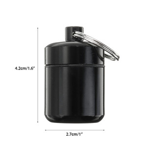 Image 5 - אלומיניום סגסוגת שחור נשיאת בקבוק מקרה סיליקון מוסיקאי מסנן אטמי אוזניים רעש ביטול הגנה Earbud גלולת תיבה