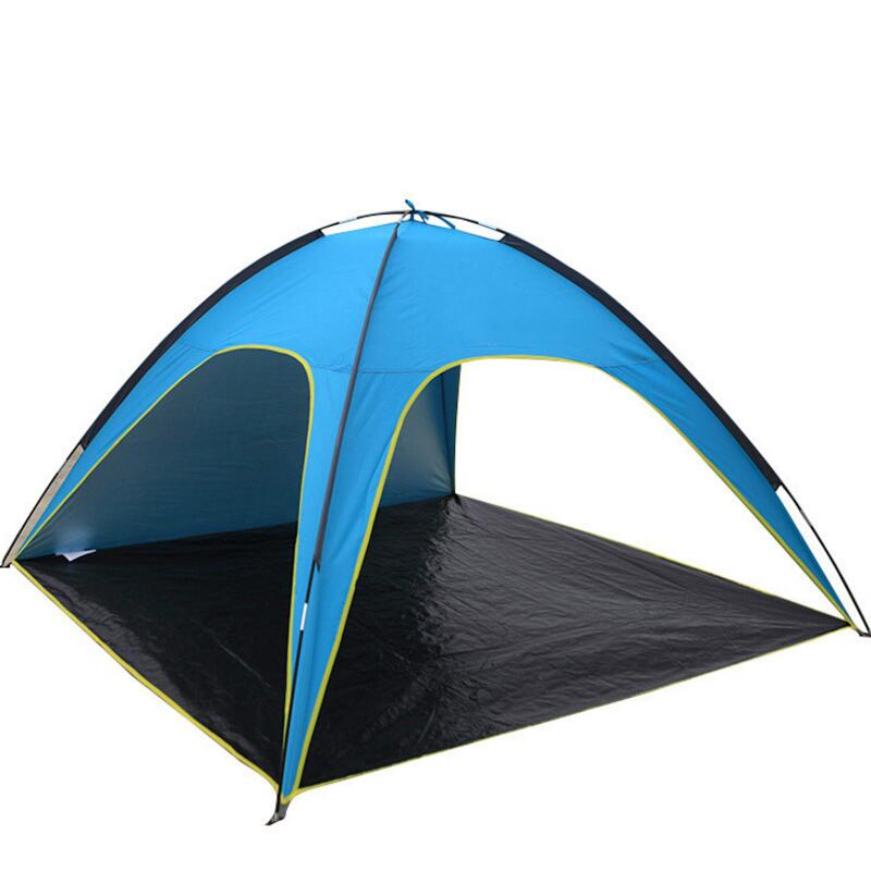 FLYTOP Beach Tent Gazebo 3 4 Persons Anti UV Awning Tents Outdoor Sunshelter Camping Fishing Sunshade Tourist Tent Ultralight portable shower tent outdoor waterproof tourist tents single beach fishing tent folding awning camping toilet changing room
