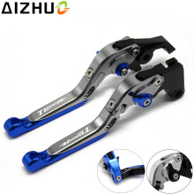 For Suzuki TL1000R 1998 1999 2000-2003 Motorcycle Clutch Brake Lever CNC Aluminum Extendable Adjustable Levers With TL1000R цена 2017