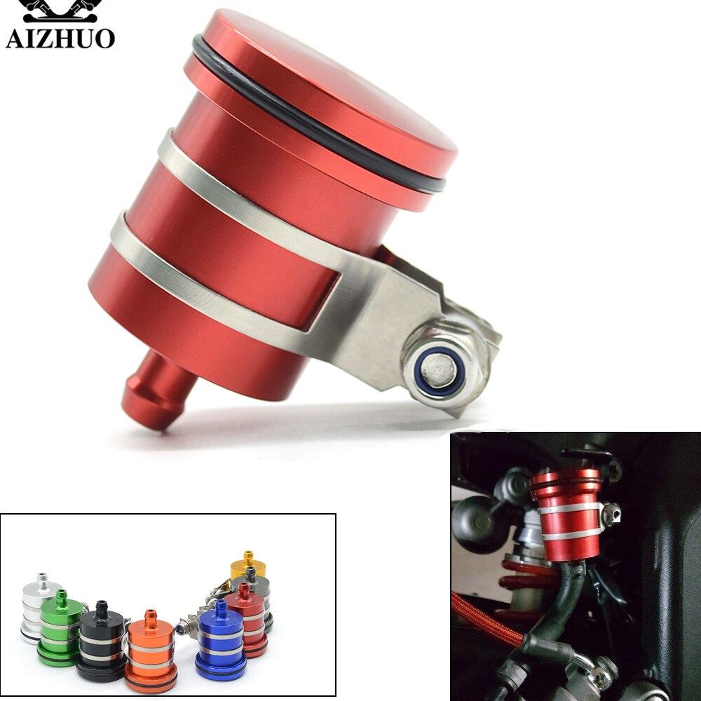 Universal Motorcycle Brake Fluid Reservoir Clutch Tank Oil Fluid Cup For kawasaki  NINJA 650R/ER-6F/ER-6N  NINJA 250 300 z300
