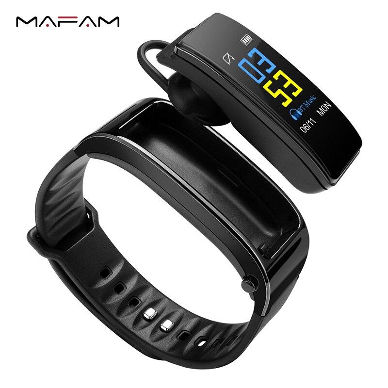 Y3 Plus Smart Sprechen Band Armband Armband Fitness Tracker Heart Rate Monitor Bluetooth Kopfhörer Smart Band Für IOS Android