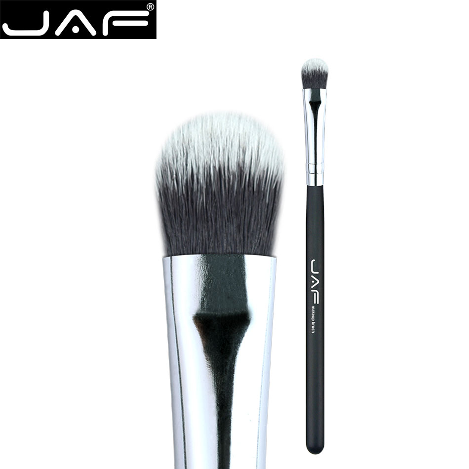 JAF  Synthetic hair smudge brush Small eye shadow brush professional Make Up Brushes cosmetic Tool Tongue flat head 06SSY shoushoulang w211 professional makeup brush squirrel hair eye shadow brush ebony handle cosmetic tool eye shader make up brush