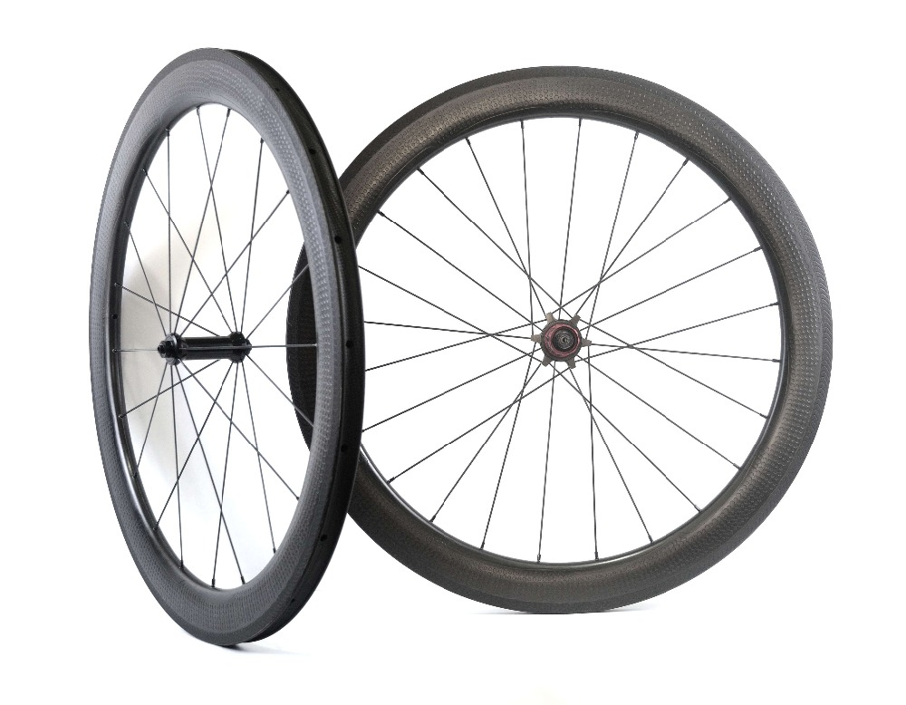 Image 2 - 20%Off Special Brake Surface Dimple Aerodynamic Carbon Wheels 2 Year Warranty 58mm Tubeless Road Bike Carbon Wheeldimple carbon wheelsroad bike carbon wheelsetbike carbon wheels -