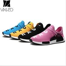 VIXLEO Tenis Diseñador Hombres Zapatos Casuales de Malla Transpirable Lujo Raza Humana Slip on Krasovki Entrenadores tamaño 35-46