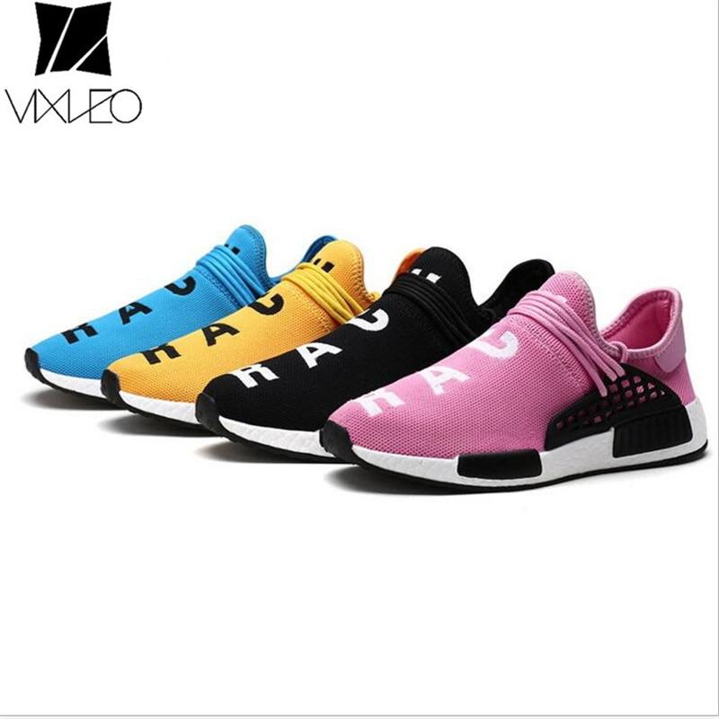 Vixleo Tenis дизайнер Мужская обувь Повседневное сетки Роскошные дышащие человеческой расы кроссовки без шнуровки красовки размер 35-46