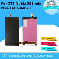LCD Screen Display Touch Digiziter For ZTE Nubia Z5S Mini NX403A Black Free Shipping
