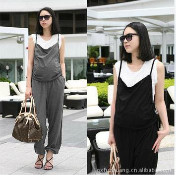 Pleated Maternity Pants 2019 Summer Maternity Clothes Pregnant Women's Bib Suspenders Pants Overalls For Pregnant Women SD10045