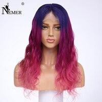 Немерено 3 т ломбер бесклеевого натуральные волосы парики естественно волосяного покрова бразильский Волосы remy 130 Плотность Полный парики