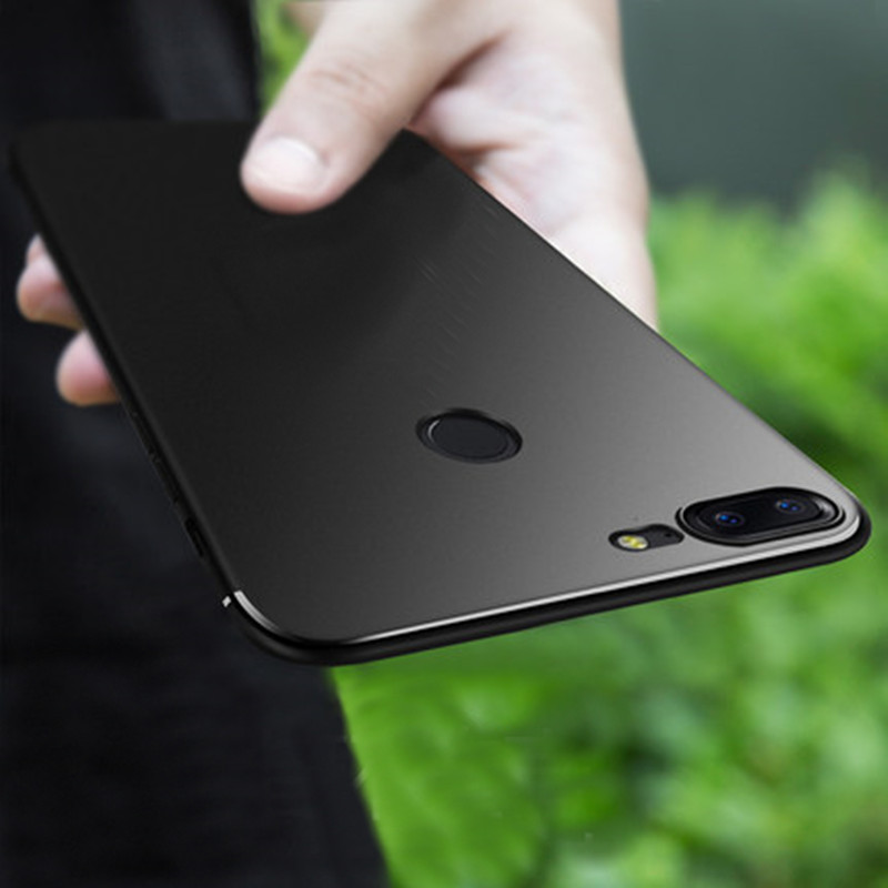 for OnePlus 5t Case [BLACK Series] [Ultra-Thin] [Anti-Drop] Premium Material Slim Ultra Thin Cover For OnePlus 5 T (matte Black)