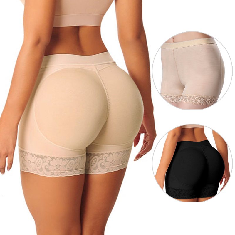 Hot Shaper Pant Sexy Boyshort Push Up Pad   Panties   Women Fake Ass Underwear Fake Butt Pad Buttock Shaper Butt Lifter Hip Enhancer