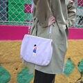 Bordado do vintage Messenger Bags Sacolas Com Fecho De Metal Para Meninas originalmente concebido por YIZISTORE (FUN KIK)