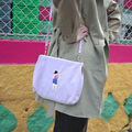 Vintage Embroidery Messenger Bags Satchels With Metal Clasp For Girls originally designed by YIZISTORE (FUN KIK)