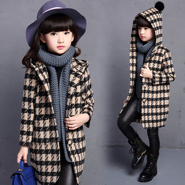 New 2016 Baby Girls Clothes Children Outerwear Coat Fashion Kids Jackets Girl Spring Winter Jacket Warm