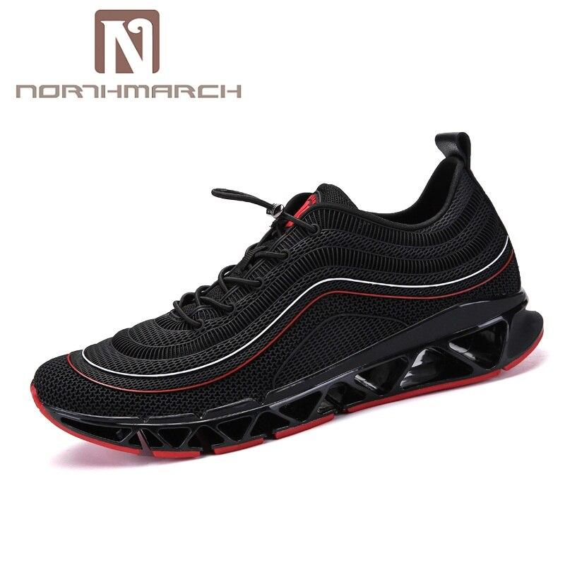 Deportivas Sapatilhas Arrivals Formadores Calçado Homens Verão Northmarch Das Respirável branco Hombre Zapatillas Preto Sapatos De vermelho Casuais New CxxRwqO0F