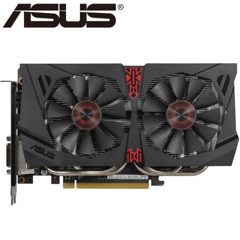 ASUS видеокарта Оригинал GTX 960 4 Гб 128 бит GDDR5 видеокарты для nVIDIA VGA карты Geforce GTX960 Hdmi Dvi игра используется в продаже|Графические карты|   | АлиЭкспресс