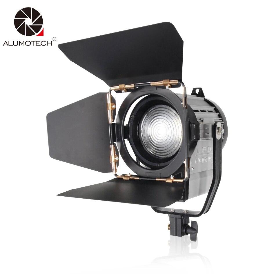 ALUMOTECH Dimmable bicolore 100 w LED Studio Fresnel spot 3200/5500 k pour Studio Photo équipement vidéo