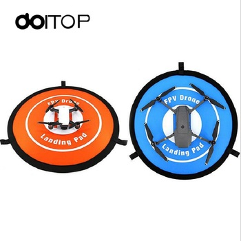 DOITOP For DJI 55cm Fast-fold Landing Pad DJI Mavic pro and Spark Helipad RC Quadcopter Drone Gimbal Drone Accessories A3 drone helipad