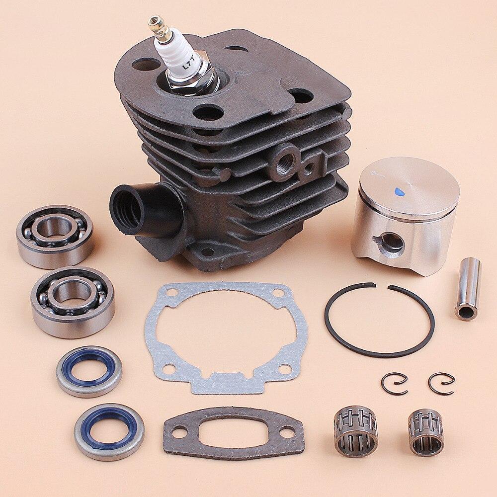 NEW Cylinder Piston KIT 45MM FIT HUSQVARNA 51 55 OEM# 503 16 83 01 CHAINSAW