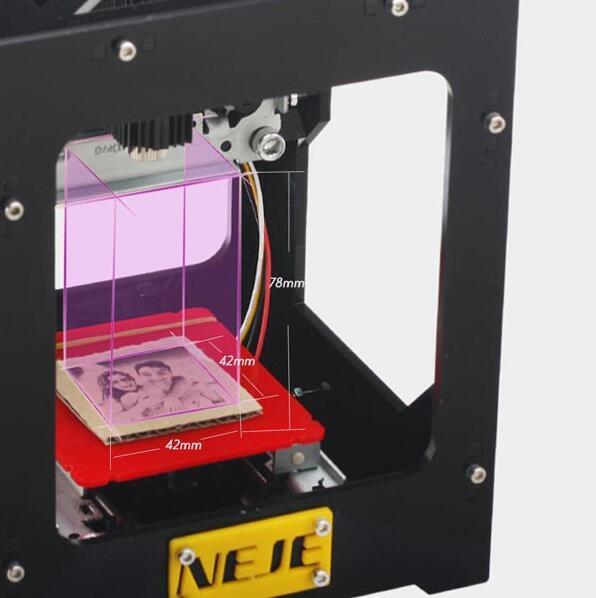 NEJE DK-BL 1500mW Wireless 6000mAh 3D Laser Engraver Engraving Machine Printer.