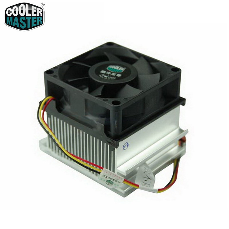 Cooler Master DI4-7HD2D-0L A73 Socket 478 CPU Cooler Radiator 70mm Quiet Fan Old desktop cooling fan image