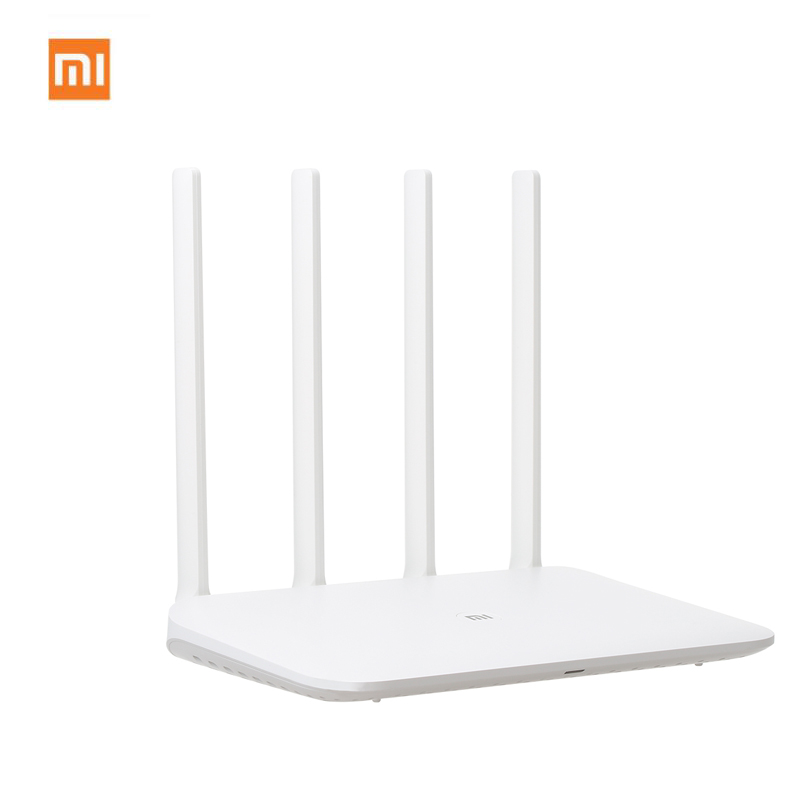 Xiao mi WiFi routeur sans fil 4 double bande 2.4/5 Ghz Gigabit intelligent mi ni WiFi répéteur 4 antennes double noyau 880 MHz contrôle d'application