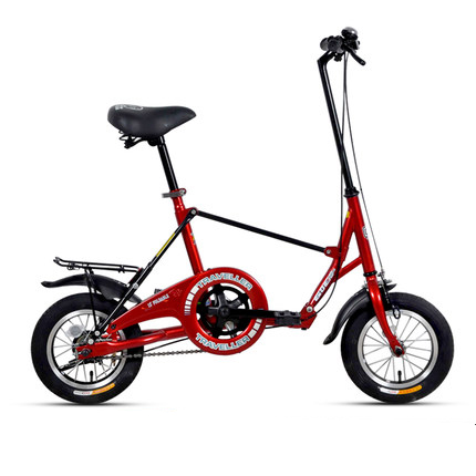 [TB04]Mini 12 inch student adult men and women work bicycle small round small folding bicycle