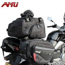 2016 moda amu motocicleta alforja trasera impermeable bolsas ribete caballero casco de la motocicleta lluvia cola de tela oxford bolsas de equipaje