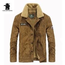 Марка Повседневная Хлопок Выстроились Куртка Новая Мода Высокого Качества Утолщение Зимняя Куртка Мужчины Флис Теплое Пальто Парки М ~ 3XL D16E16818