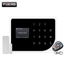 NEUE S5 drahtlose Russische Spanisch Englisch Dutch Sicherheit Home Alarm System APP Control Alarm GSM 850/900/1800 /1900MHZ