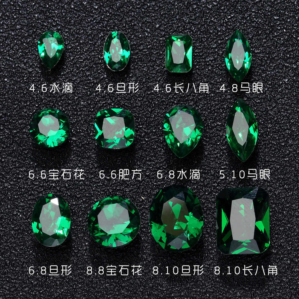 nail ornaments gas quality models the end of the emerald green precious stones profiled drill pile drill new light therapy
