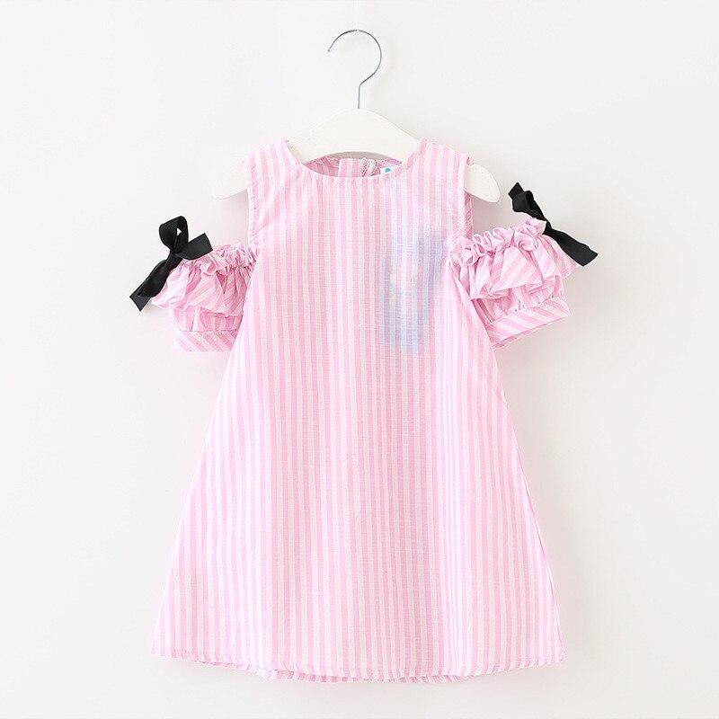 Tribros 2017 Estilo de los Bebés Lindos de Verano de Rayas ropa Niños Ropa Próxi