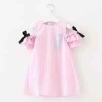 2017 Summer Style Baby Girls Cute Striped Clothing Children S Clothes Next Costume For Kids Little