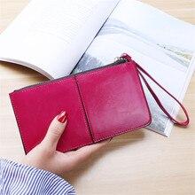 Купить с кэшбэком 2019 Women Wallets Purses Wallet Brand Credit Card Holder Clutch Coin Purse Cellphone Pocket Gifts For PU Leather Long Money Bag