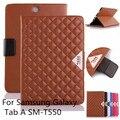Для Samsung Galaxy Tab A 8.0-inch, Элегантный высокое качество роскошный кожаный Чехол для Samsung Galaxy Tab A 8.0 SM-T350