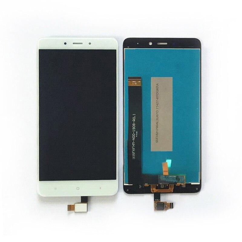 imágenes para Nueva Asamblea LCD Tipo de Pantalla LCD de Pantalla táctil de la Pantalla Táctil con el Nivel de Calidad AAA para XIAOMI REDMI Nota 4