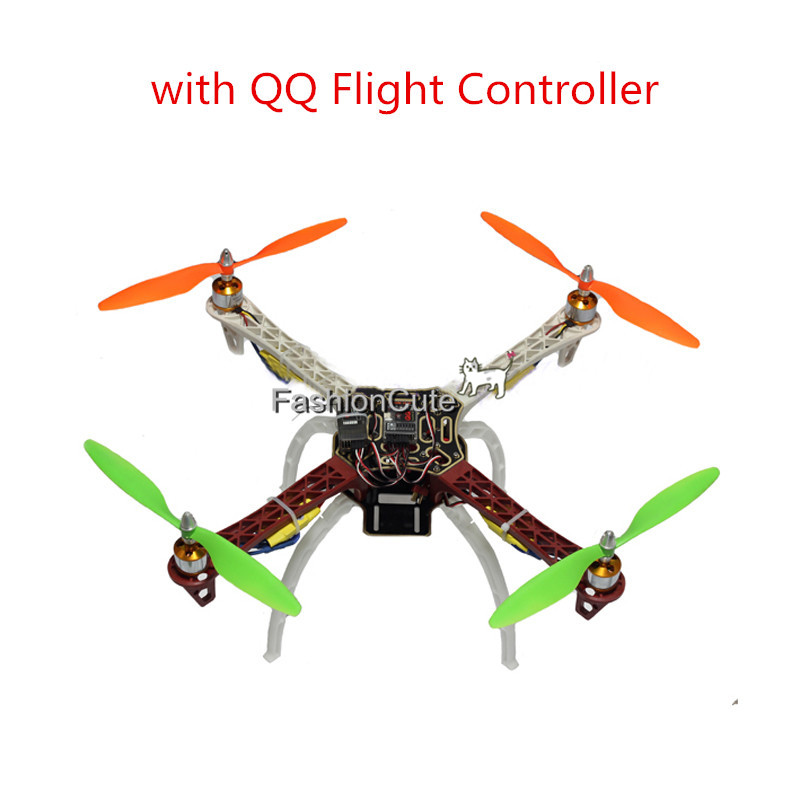 F450 450 Quadcopter MultiCopter Frame kit with QQ Flight Controller 2212 Motor+30A ESC+1045 props Propeller for DJI F450 F550 4set lot universal rc quadcopter part kit 1045 propeller 1pair hp 30a brushless esc a2212 1000kv outrunner brushless motor