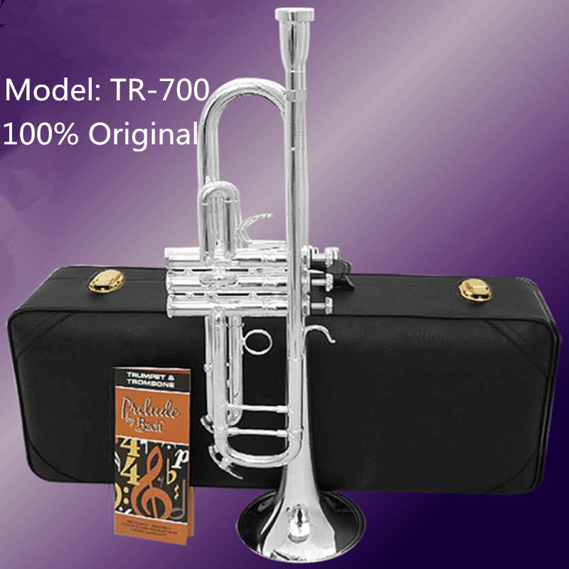 Back To Search Resultssports & Entertainment Brass Instruments American Original Trumpet Bach Tr-700 Gold And Silver Plated Trompete Small Musical Instruments Professional Trompete Profission Top Watermelons