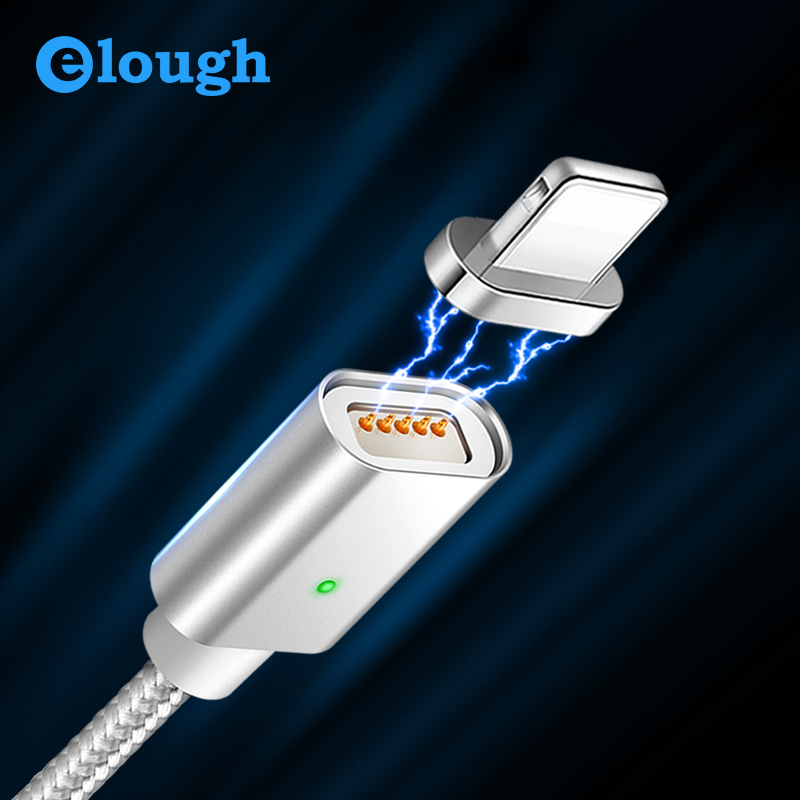 Elough E04 Magnetic Cable For iPhone Cable XS X 7 5 6 Plus iPad Phones Fast Charging USB CableData Wire For iPhone charger cable|Mobile Phone Cables|   - AliExpress