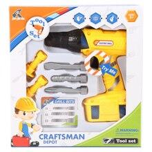 Rowsfire 7 шт./компл. инструмент малыша Дети претендует Emulational ремонт Tool Kit игрушки для детей науки образование удаленный капля