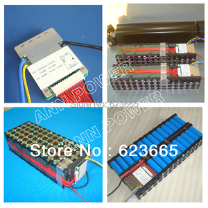 Image 3 - 12S 36V 15A lifepo4 pil BMS elektrikli bisiklet için kullanılan 36V 8Ah 10Ah 12Ah 15Ah LiFePO4 pil paketi ile denge fonksiyonu ile