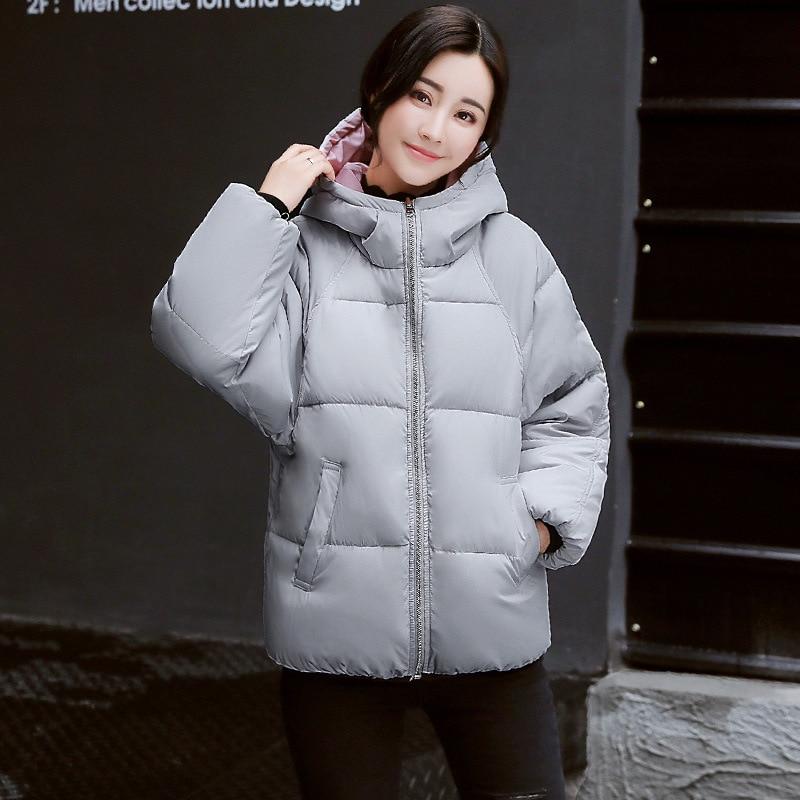 Dimensions gray Décoration Trois En Porter Vers D'hiver Le Couleur Double De Courte black Veste Solide Épais Peut Femmes face Lâche Bas White fnW1wtx5q