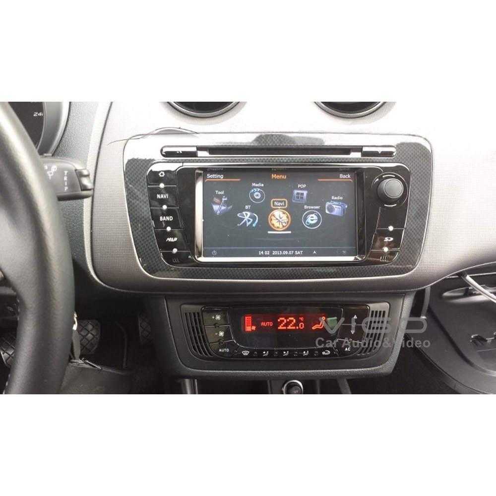 car stereo gps navigation for seat ibiza radio dvd player multimedia headunit sat nav autoradio. Black Bedroom Furniture Sets. Home Design Ideas