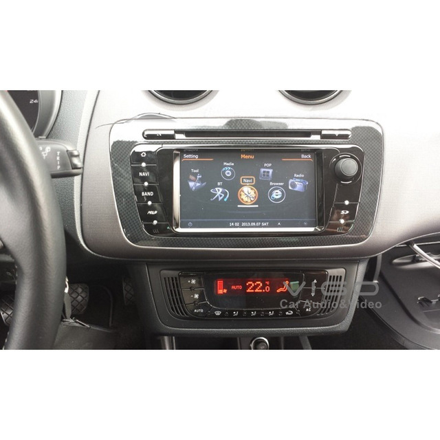 Car Stereo Gps Navigation For Seat Ibiza Radio Dvd Player