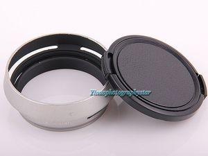 Image 3 - 실버 49mm 렌즈 어댑터 링 + 메탈 렌즈 후드 + 후지 필름 후지 x100 x100s x100t 용 렌즈 캡 교체 렌즈 후드 LH X100 x70