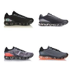Image 2 - Vợt Cầu Lông Li Ning Nam Bong Bóng Vòng Cung Chạy Bộ Đệm Không Khí TPU Hỗ Trợ Lót Lý Ninh Cung Thể Thao Trọng Lượng Nhẹ giày Sneakers ARHN005 XYP872